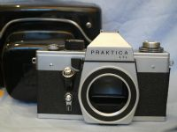 ' 42MM ' Praktica LTL M42 SLR Camera Cased + Inst   £5.99